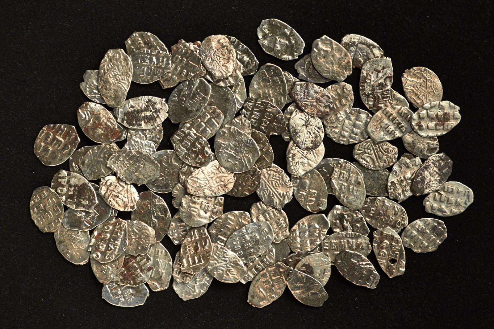 В москве нашли клад времен петра i - часть зарплаты дворянин.