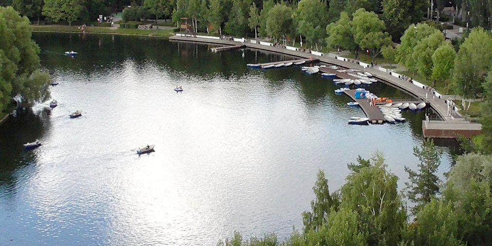 Тест-драйв парков Москвы: Измайловский парк с высоты птичьего полета