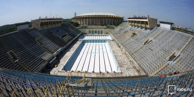 Upgraded Luzhniki swimming pool to feature simulated river and salt-water bath