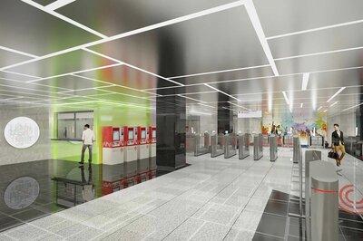 Станция «Университет дружбы народов» Троицкой линии готова более чем наполовину