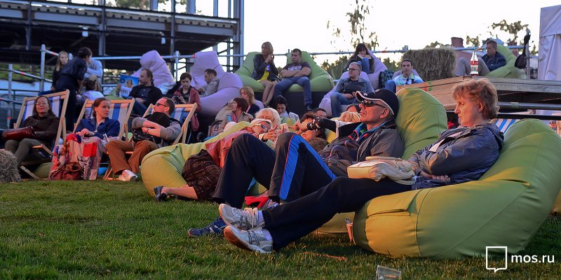 Festival, musical and animation films: Movie Night in Moscow parks