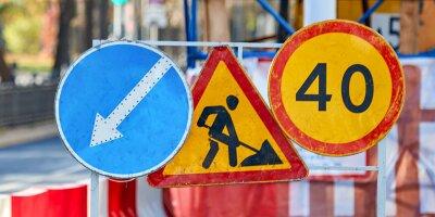 В ЗАО, СЗАО и САО временно изменилась схема движения транспорта