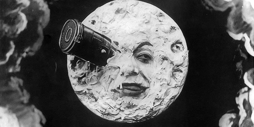 Кадр из фильма «Путешествие на Луну». Режиссер Жорж Мельес. 1902 год