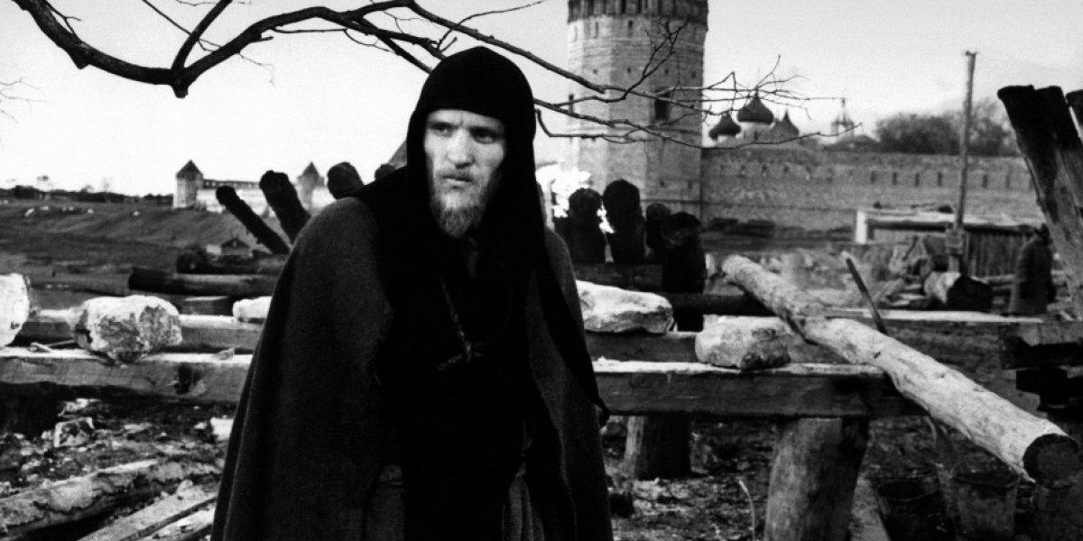 Кадр из фильма «Андрей Рублев». Режиссер Андрей Тарковский. 1966 год