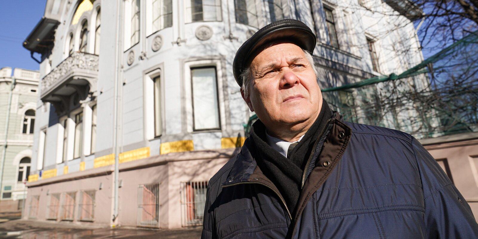 Boris Moginov. Photo by Yevgeny Samarin, Mos.ru