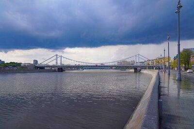 Дожди и сильный ветер: погода в Москве ухудшилась