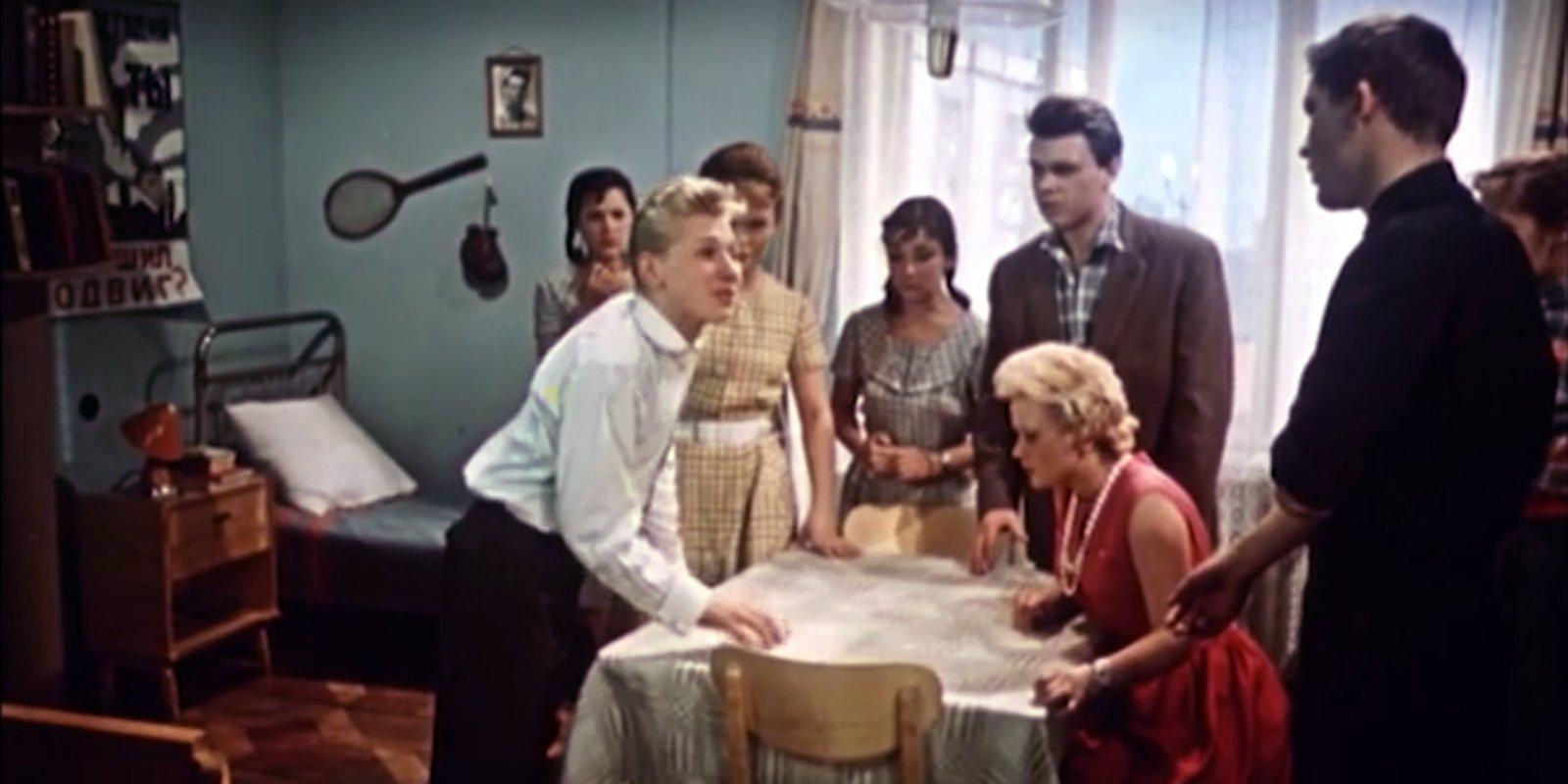 Кадр из фильма «Семь нянек». Режиссер Ролан Быков. 1962 год