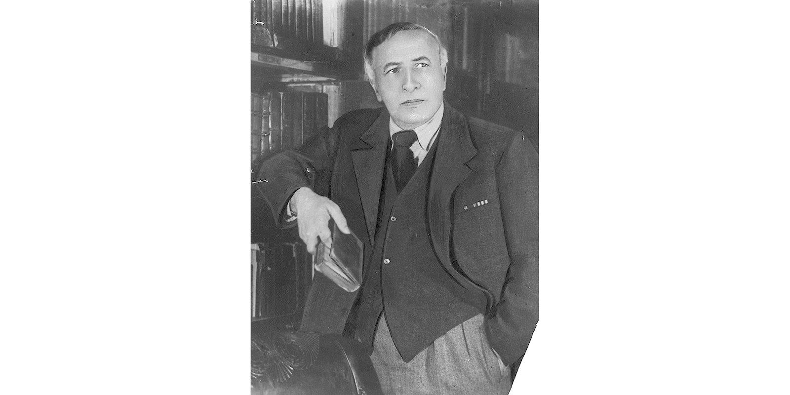 Alexander Tairov. 1949. Courtesy of Pushkin Theatre