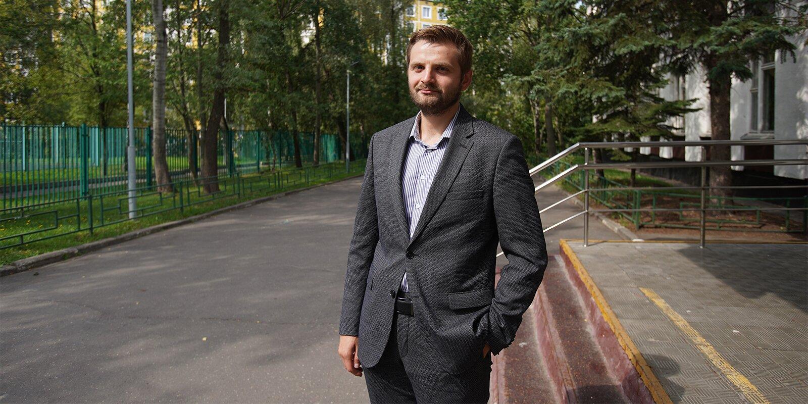 Валерий Дашко, директор школы № 780. Фото Е. Самарина. Mos.ru