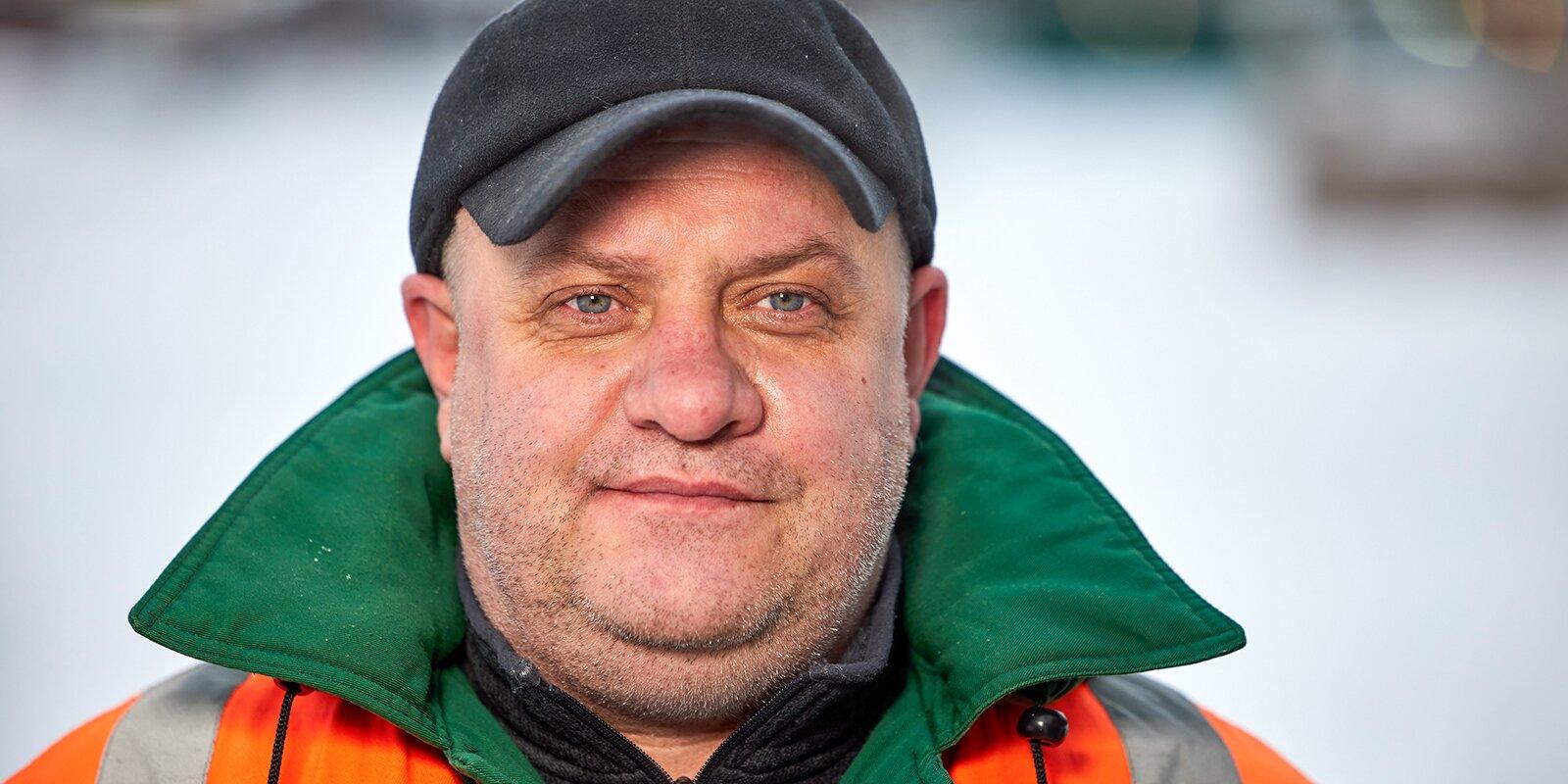 Dmitry Kupriyenko, Deputy Head, Operational Hydro-Technical District No. 1 of Movodostok Effluent Control and Recovery Company. Photo by Maxim Denisov, Mos.ru