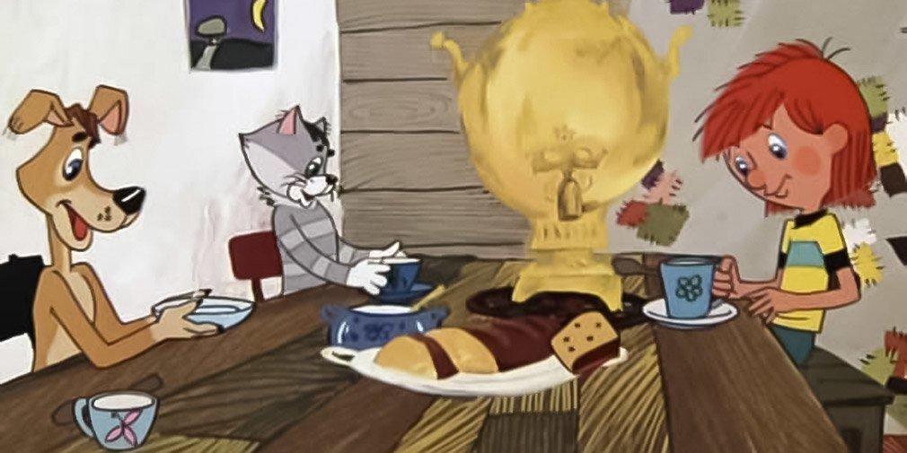 Кадр из мультфильма «Трое из Простоквашино». Режиссер В. Попов. 1978 год