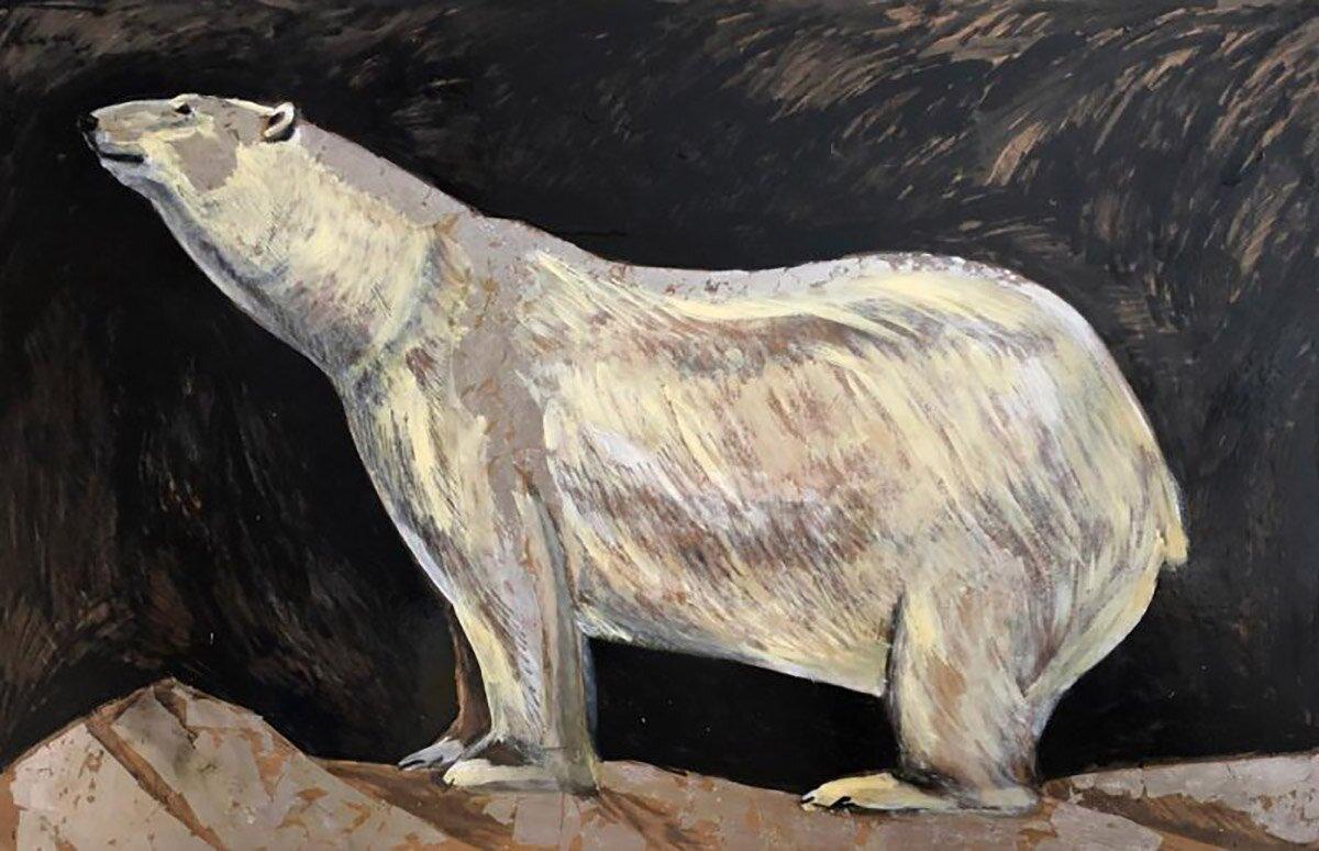 М. Суворова. Белая медведица. 2020 год