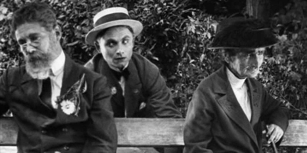 Кадр из фильма «Ягодка любви». Режиссер Александр Довженко. 1926 год