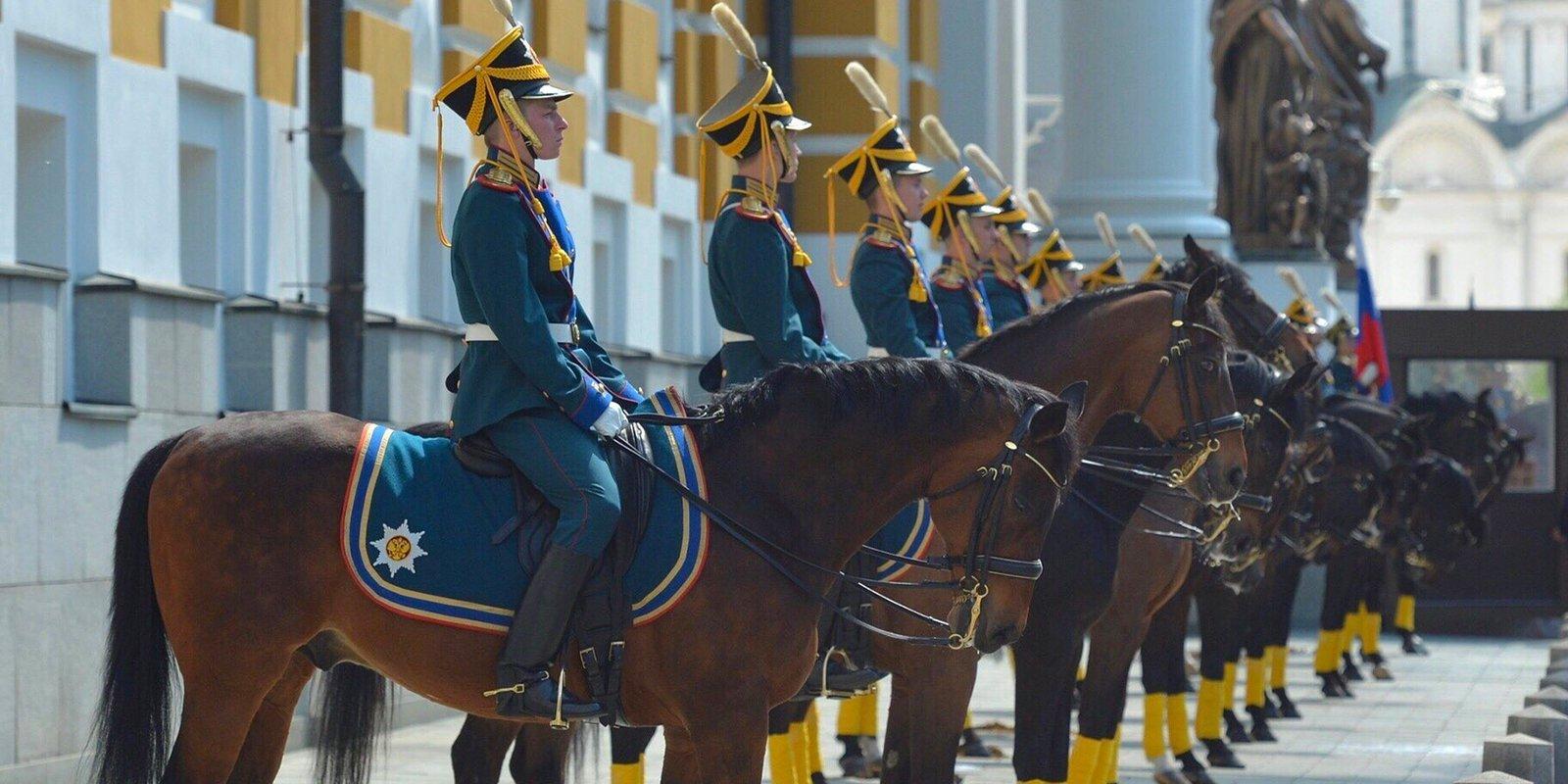 Фотокружка кремлевский полк