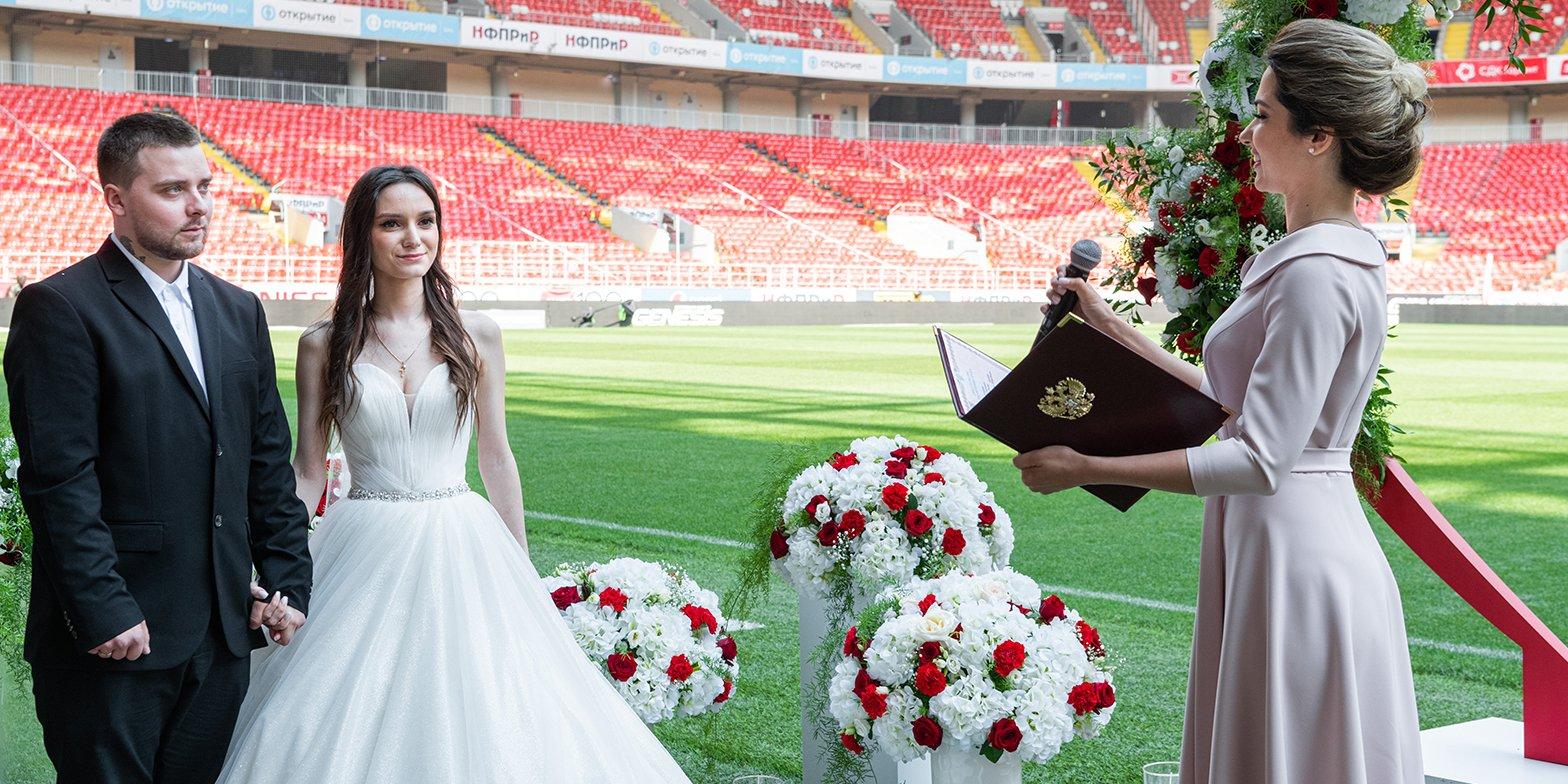 В День семьи, любви и верности Сергей Собянин поздравил молодоженов с началом семейной жизни