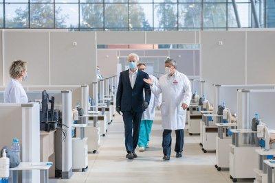 В «Сокольниках» и «Крылатском» начали работу госпитали для пациентов с коронавирусом