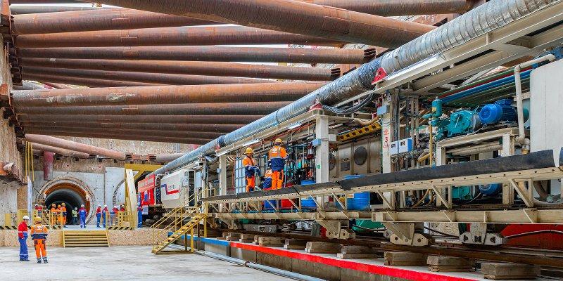 Москвичи поддержали программу строительства метро