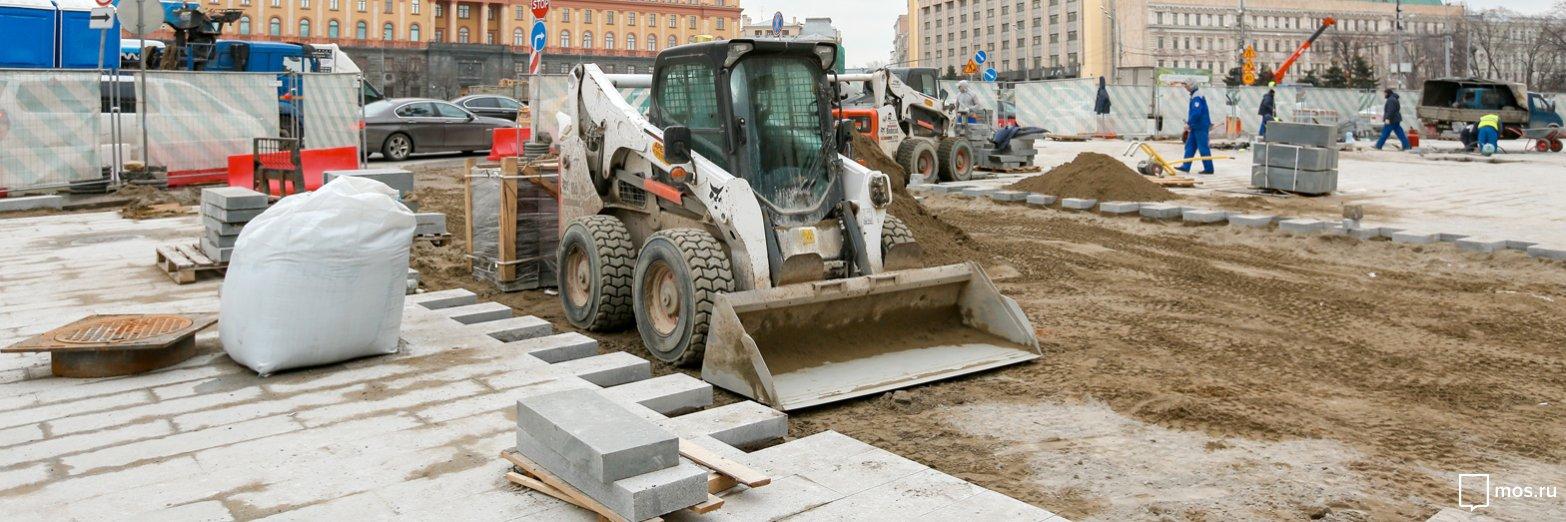 Благоустройство в центре города закончат в течение нескольких месяцев. Официальный сайт Мэра Москвы