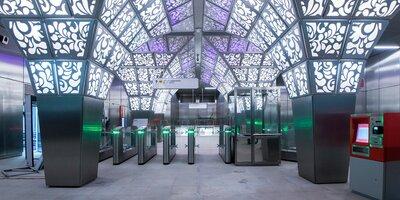 Архитектура новых станций метро (видеографика)