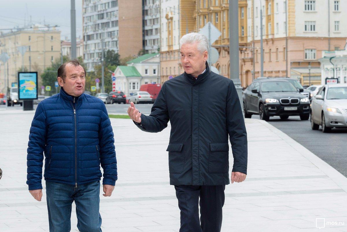 Собянин, Мэр Москвы, Правительство Москвы, Улицы, Моя улица, Благоустройство