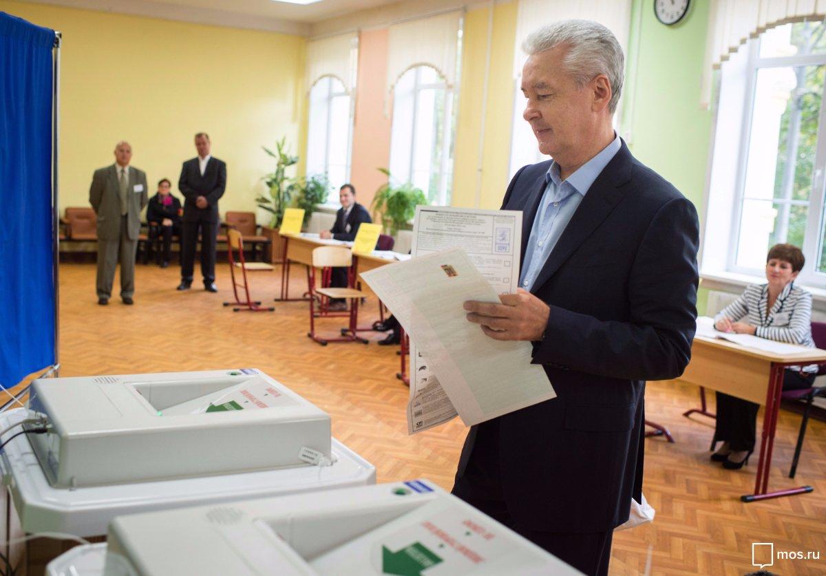 Собянин, Мэр Москвы, Правительство Москвы, Выборы