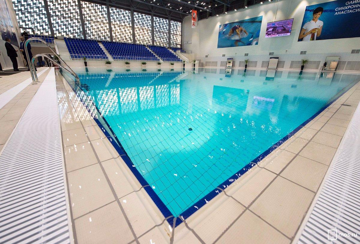 Олимпийский центр синхронного плаванья на территории бывшего завода ЗИЛ
