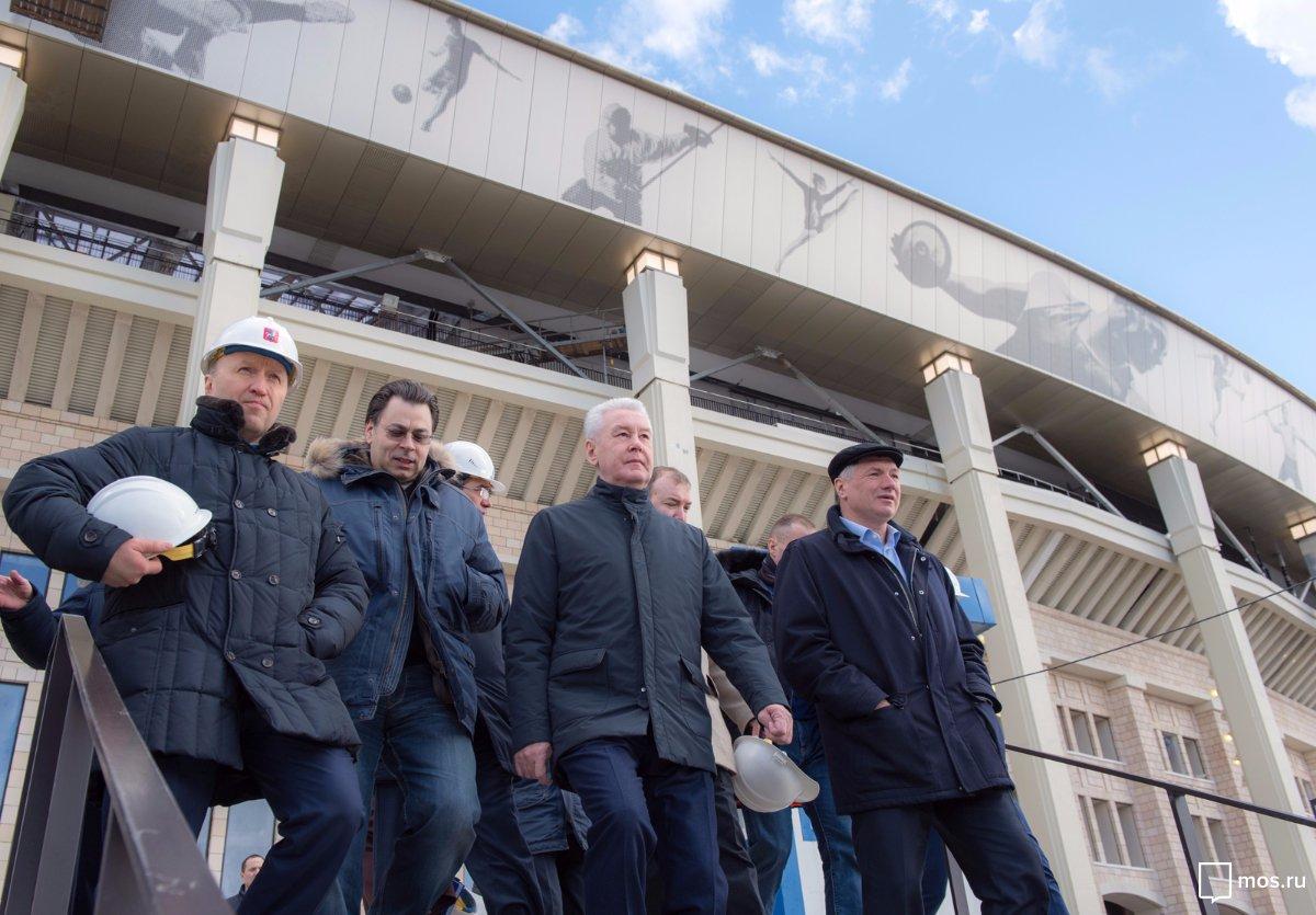 Собянин: Завершение реконструкции Большой спортивной арены «Лужников». Официальный сайт Мэра Москвы